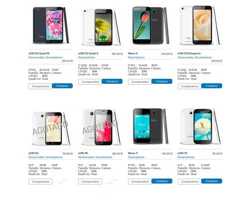 Smartphones libres 2015 precios