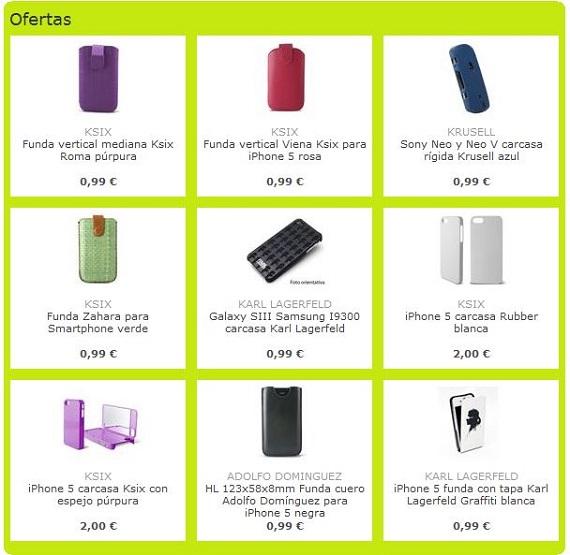 Carcasas para móviles baratas
