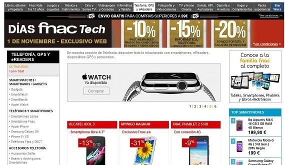 Fnac móviles libres 2015: opiniones y precios de Samsung