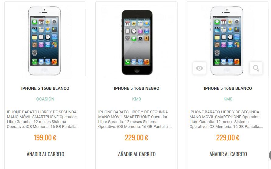 comprar iphone de segunda mano 2016