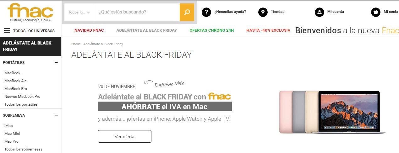 Black Friday Fnac Iphone