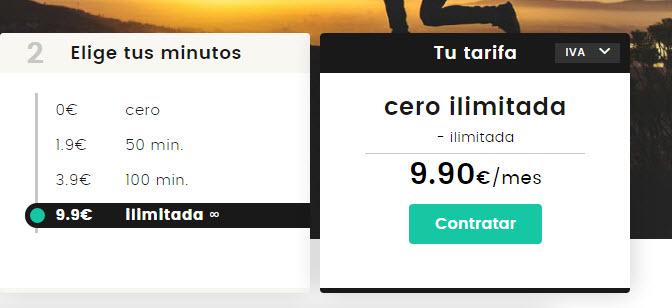 mejor tarifa movil con llamadas ilimitadas 2017