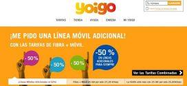 Ofertas en Tarifas de Fibra Yoigo 2017: promociones online