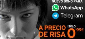 Tarifa Plana Whatsapp y Telegram en Simyo: características