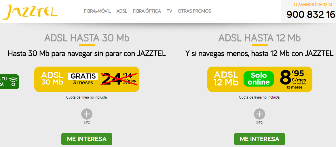 ofertas internet jazztel adsl 2017