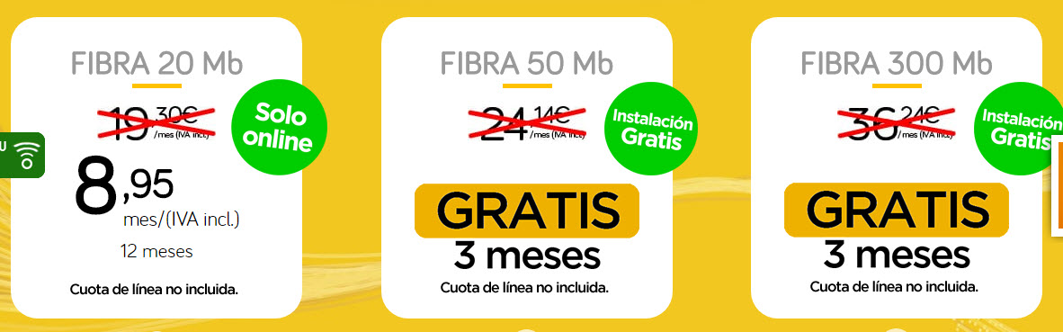 ofertas internet jazztel fibra 2017