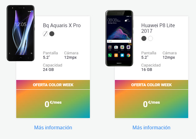ofertas yoigo color week