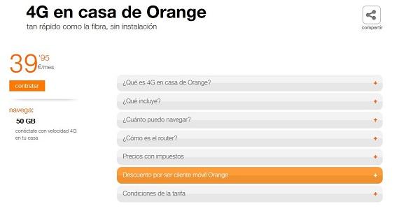 orange home precios