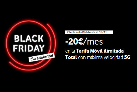black friday vodafone movil